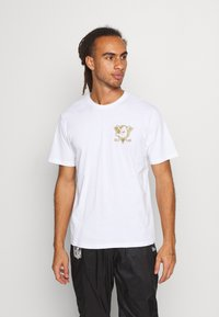 Fanatics - ANAHEIM LOGO GRAPHIC - Club wear - white - 0