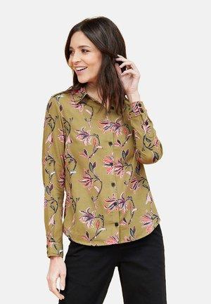 MANDALA - Button-down blouse - olive oyl