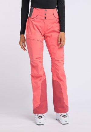 CREEK - Snow pants - grapefruit pink
