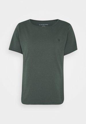 MYSID OPTION SLIM - Basic T-shirt - graphite