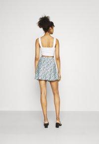 Gina Tricot - JANE SKIRT - Mini skirt - multi-coloured - 2