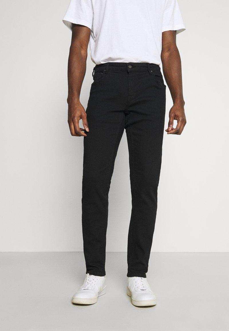 Solid - JOY - Slim fit jeans - black denim
