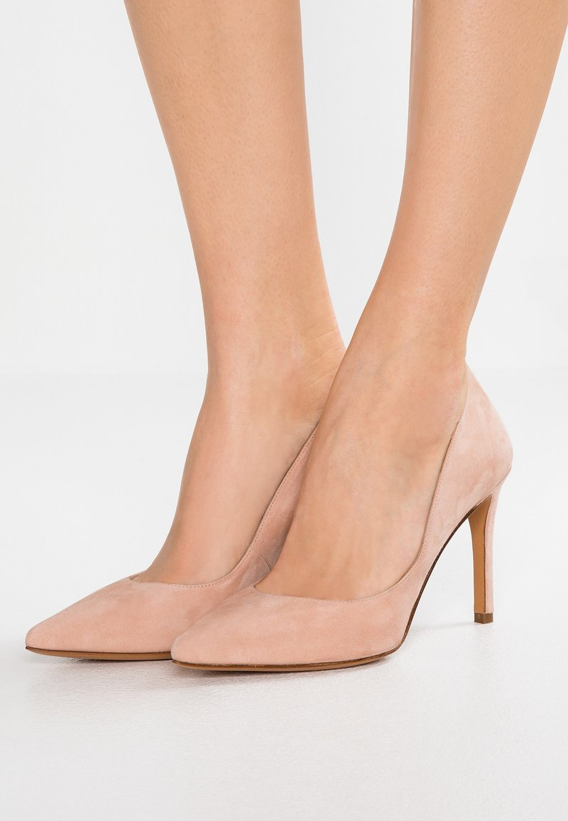 Pura Lopez - Zapatos altos - nude