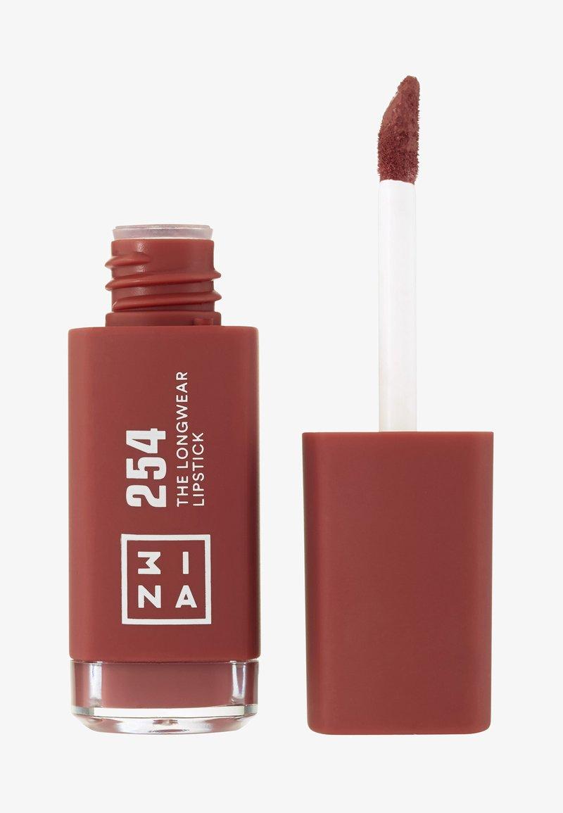3ina - THE LONGWEAR LIPSTICK - Rouge à lèvres liquide - 254 brown