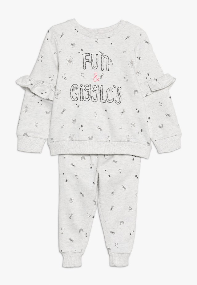 BABY FUN SET - Sweatshirt - grey