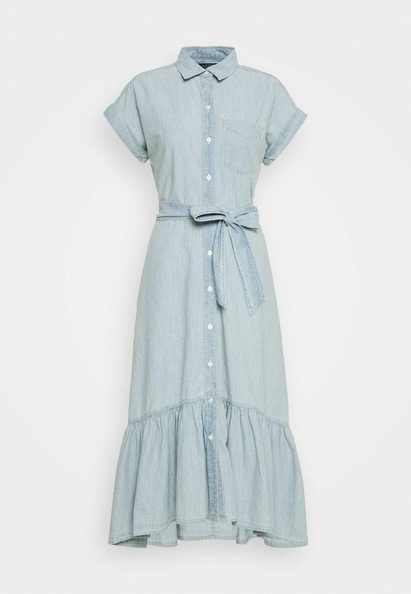 Lauren Ralph Lauren - CHIRIPAL DRESS - Day dress - blue lagoon wash