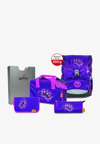 DerDieDas - School set - purple princess - 0