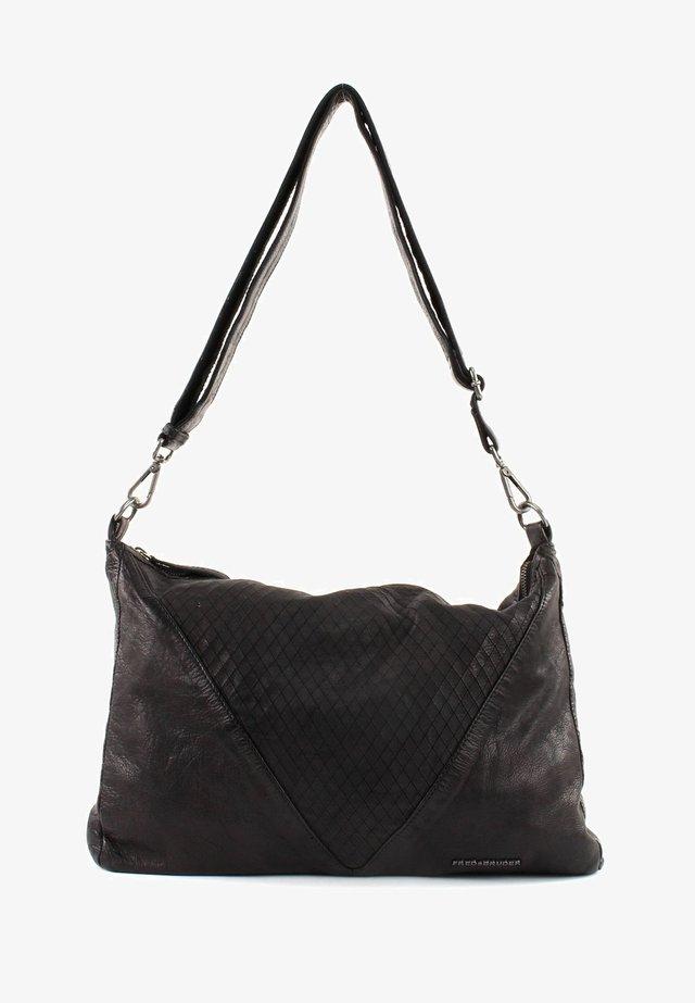 V ARROW - UNIQUE - Handbag - black