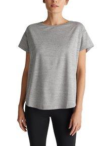 Esprit Sports - Print T-shirt - medium grey - 4