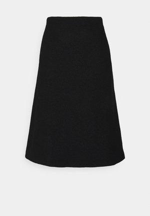 ELBA SKIRT - Áčková sukně - black