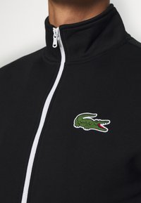 Lacoste Sport - TRACKSUIT - Tracksuit - black/green/white - 8