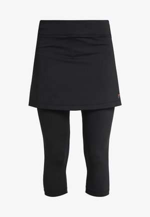 SKORT SINA 2-IN-1 - Leggings - black