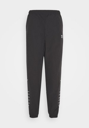 LOGO - Pantalon de survêtement - black/white