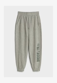 Bershka - Trainingsbroek - light grey - 4