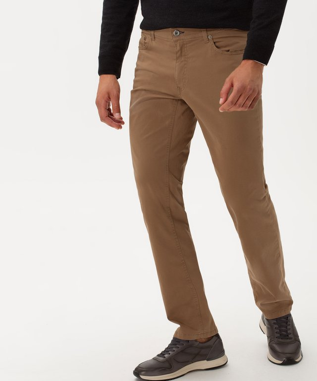 STYLE COOPER FANCY - Jeans Straight Leg - walnut