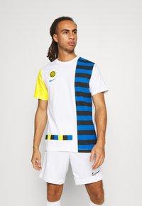Nike Performance - INTER MAILAND TEE IGNITE SALONE - Club wear - white - 0