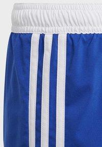 adidas Performance - 3 STRIPES PRIMEGREEN REGULAR SWIM SHORTS - Swimming shorts - blue - 3