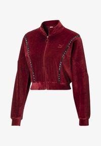 Puma - Zip-up hoodie - pomegranate - 3