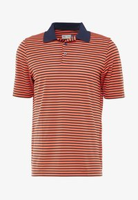 Kjus - MEN LUIS STRIPE - Polo - intensive peach - 3