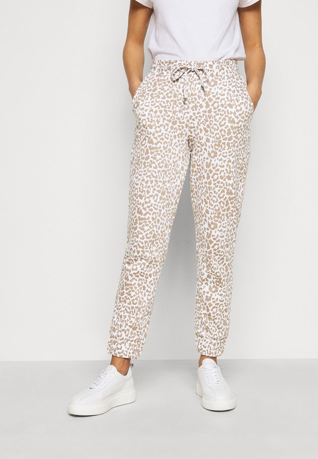 NMRAINY PANT  - Tracksuit bottoms - bright white