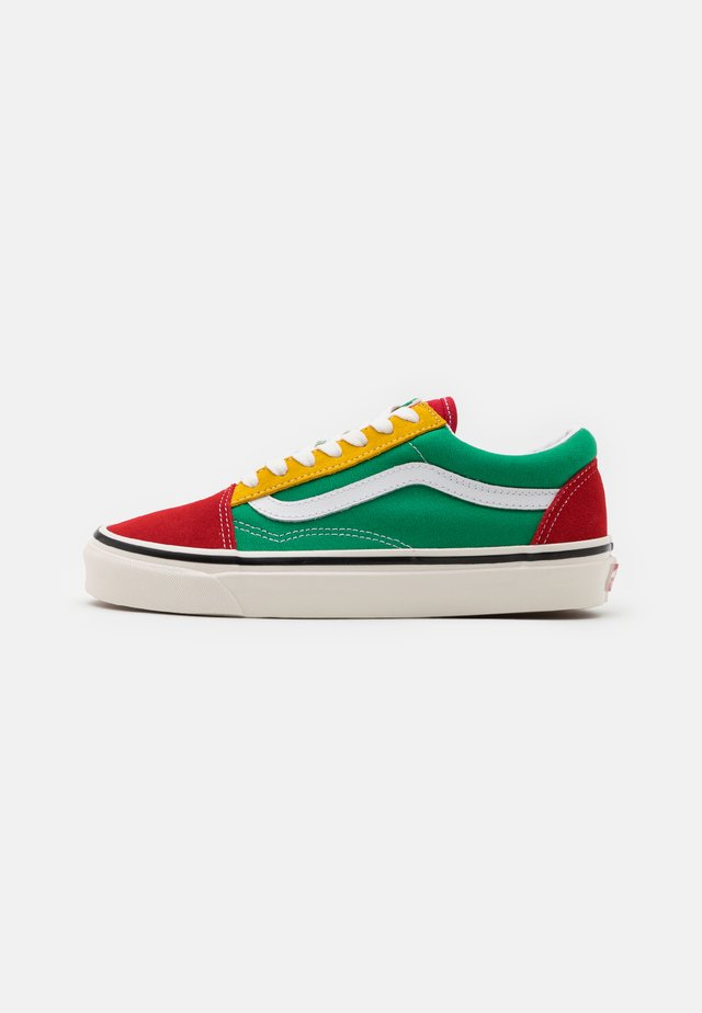 ANAHEIM OLD SKOOL 36 DX UNISEX - Zapatillas skate - green/yellow/red