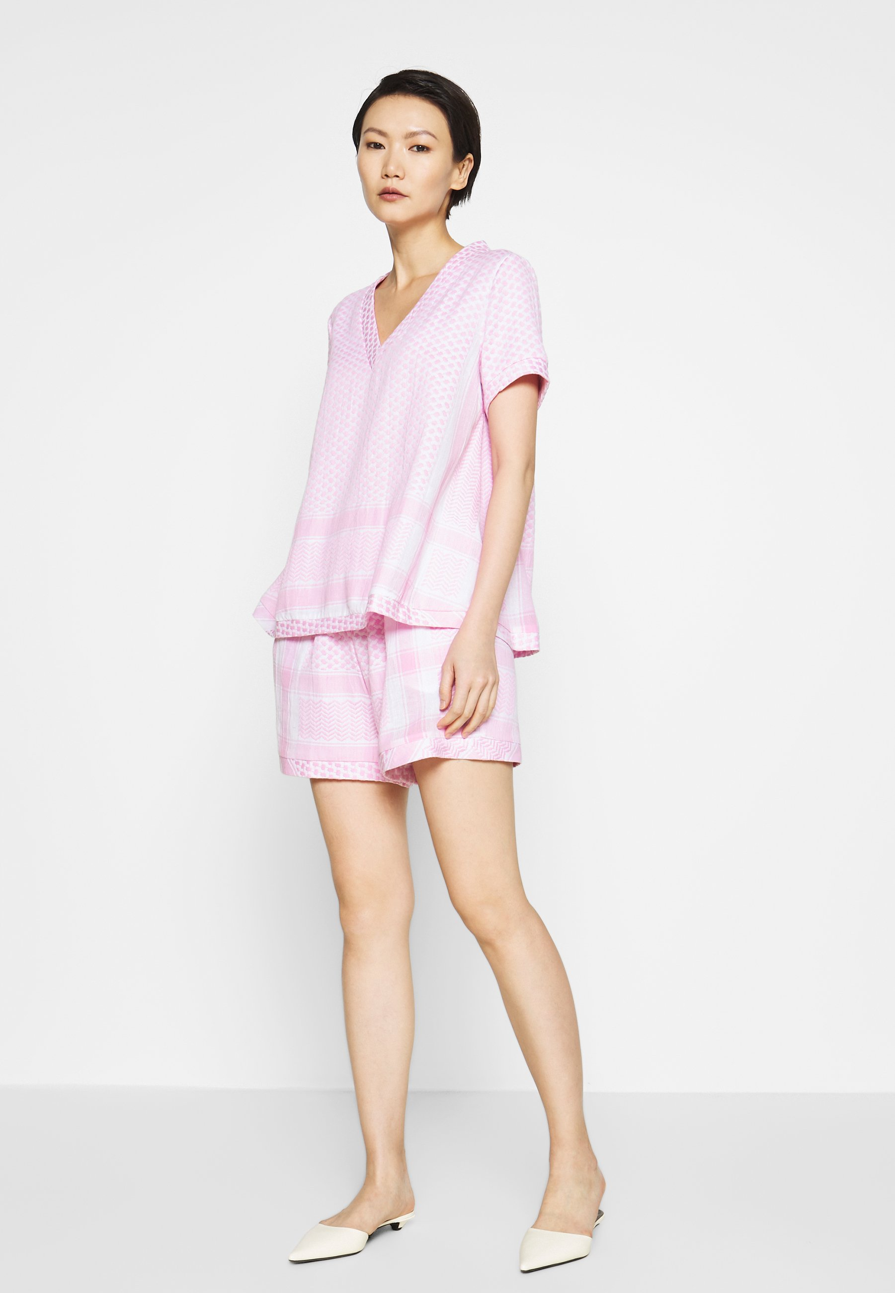 Cecilie Copenhagen Bluser - Bubble/rosa