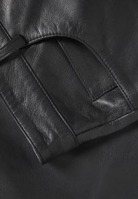 Soaked in Luxury - SLPATRICIA - Leather trousers - black - 6