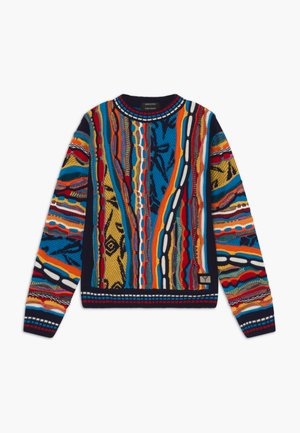 Jumper - navy multicolor