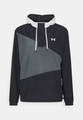 CREST ANORAK - Sportovní bunda - black