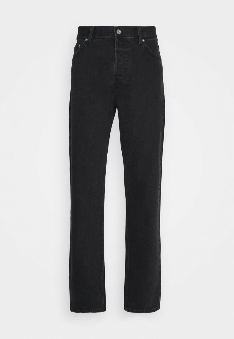 Weekday - BARREL RELAXED TAPERED - Džíny Relaxed Fit - tuned black