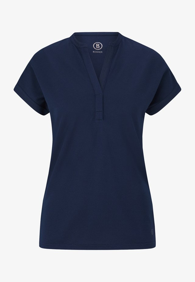 ELIN - Jednoduché triko - navy blau