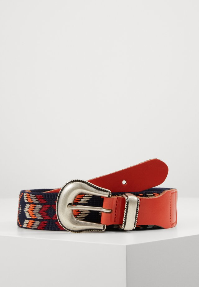 Belt - orange/red