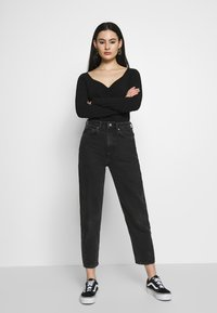 Monki - MONIKA - Topper langermet - black - 1