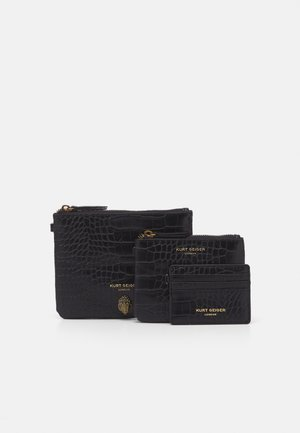 TRIPLE POUCH SET - Wallet - black