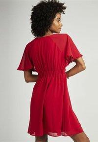 NAF NAF - CROCUS - Day dress - red - 2