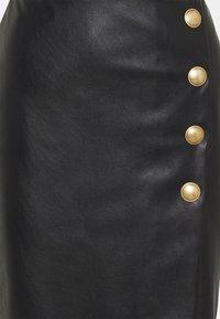 Pinko - MONSONE GONNA - Pencil skirt - black - 2