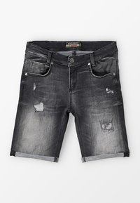 Blue Effect - BOYS - Denim shorts - black medium - 0