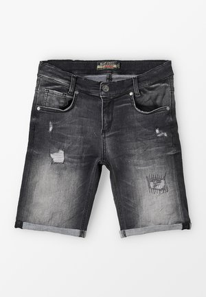 BOYS - Denim shorts - black medium