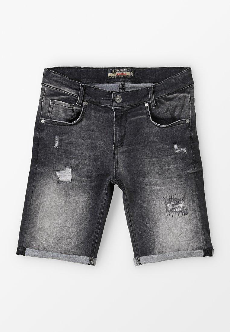 Blue Effect - BOYS - Denim shorts - black medium