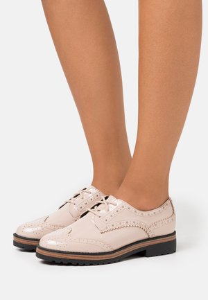 CAVOTTI - Lace-ups - medium beige