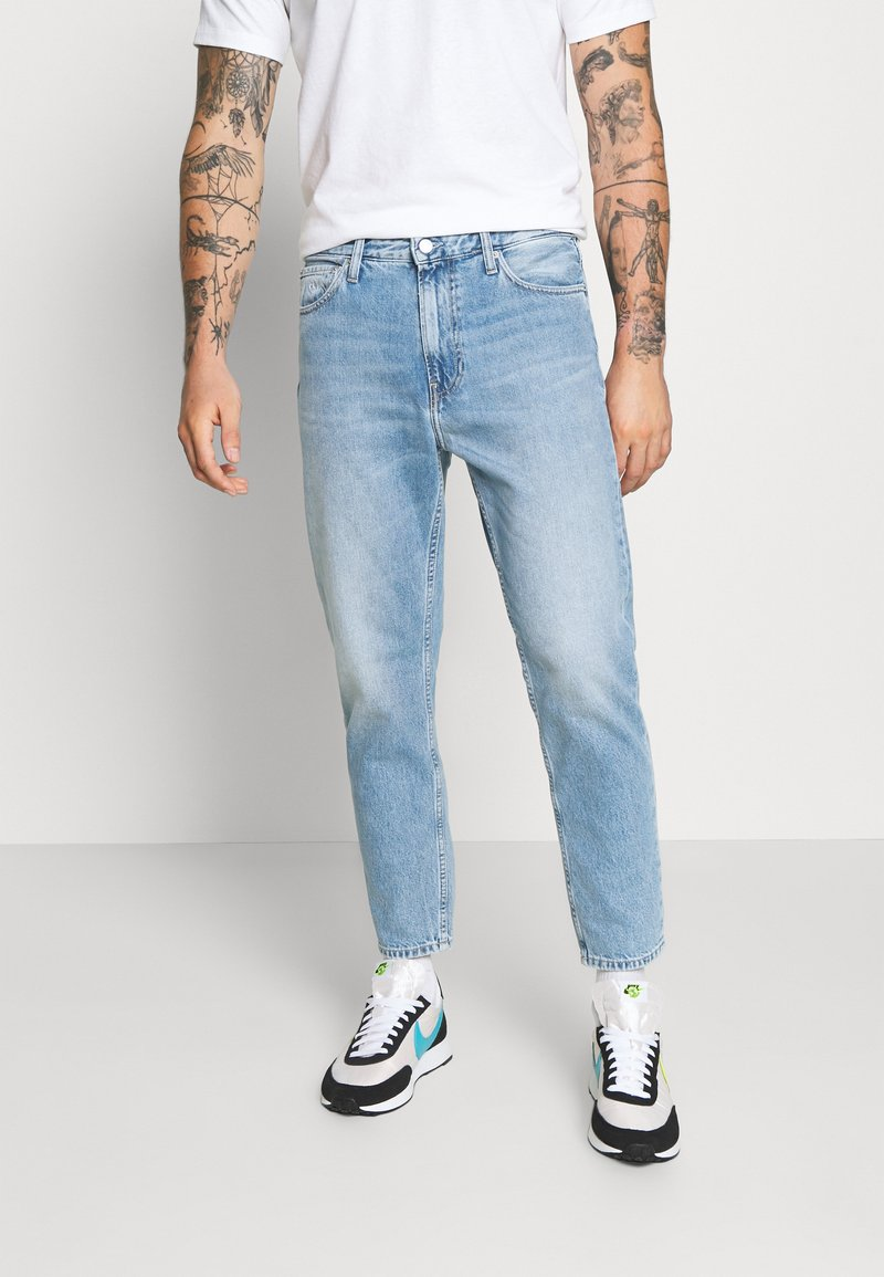Calvin Klein Jeans - DAD JEAN - Relaxed fit jeans - light blue