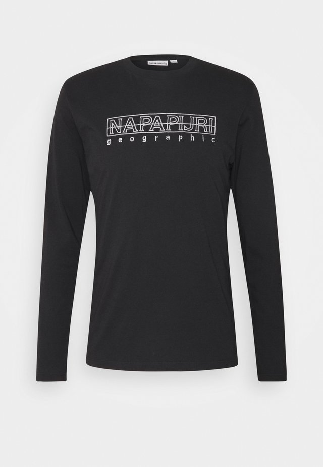 SEBEL - Longsleeve - black
