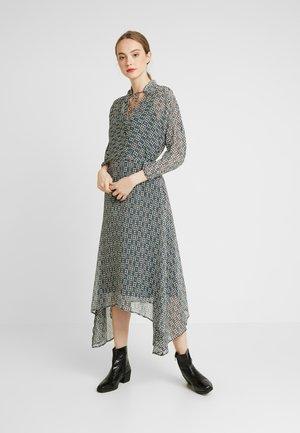 MISTA DRESS - Vestido informal - teal geometric pattern