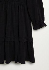 Mango - MOSS7 - Jersey dress - černá - 4