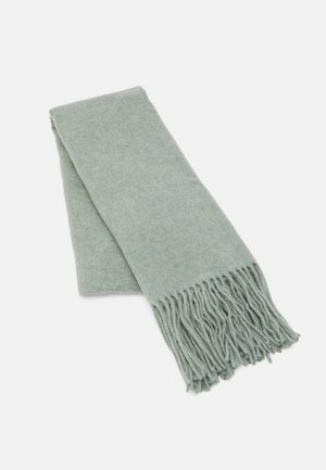 SCARF COSY TONAL LONG FRINGES - Scarf - washed spearmint