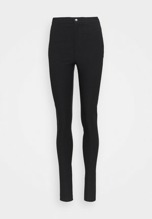 NMSOLINE SOLID PANTS  - Bukse - black