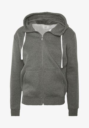 Sweater met rits - dark grey