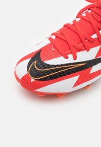 Nike Performance - MERCURIAL 8 ACADEMY CR7 FG/MG UNISEX - Moulded stud football boots - chile red/black/white/total orange - 5