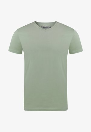 Basic T-shirt - middle green