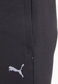 Puma - SCUDERIA FERRARI STYLE CC  - Tracksuit bottoms - black - 5